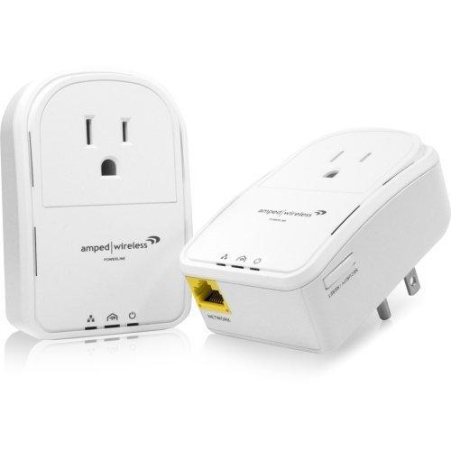 Amped Wireless Pla2 Powerline Nano Av500 1. Port Network Adapter Kit . 1 X Network (Rj. 45), Homeplug Av500, Kit Includes 2 Units, Pass. Through Outlet ''Product Type: Network & Communication/Powerline Network Adapters''