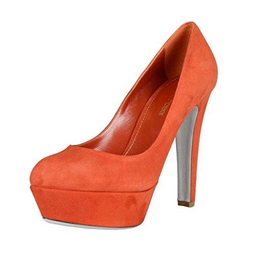 Sergio Rossi Suede Platform Pump - Sergio Rossi Suede Leather High Heel Platform Pumps Shoes US 9 IT 39;