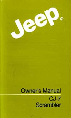 bishko automotive literature 1985 Jeep Cj Scrambler Wrangler Owners Manual User Guide Reference Operator Book - Jeep Cj Owners Manual