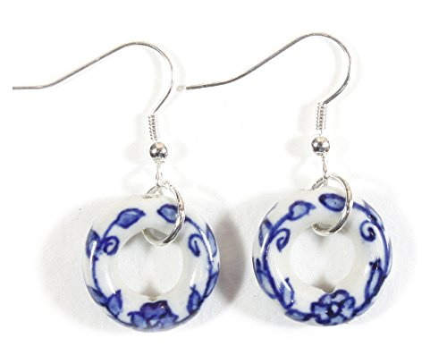 Porcelain Bead Earrings (