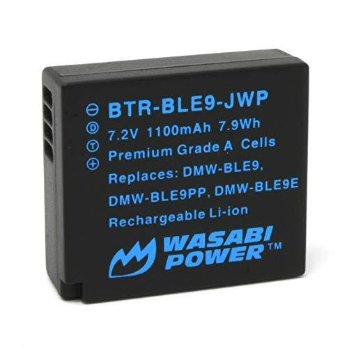 Wasabi Power Battery for Panasonic DMW-BLE9, DMW-BLG10 and Panasonic Lumix DMC-GF3, DMC-GF5, DMC-GF6, DMC-GX7