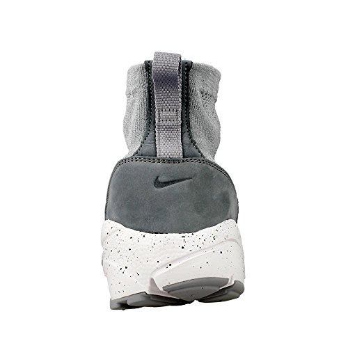 Nike Mens Air Footscape Magista Flyknit Scarpe Da Calcio Grigio