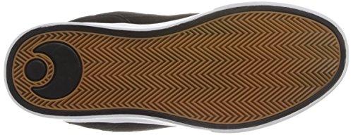 Zapatos Osiris Caswell Vulc Negro-Negro-Gum (Eu 39.5 / Us 7 , Negro)