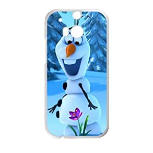 HTC One M8 Cell Phone Case White Frozen Q9243713