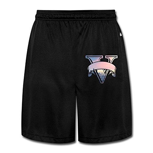 Men's Particular V Logo Scanties Black Size 3X