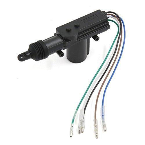 Lanlan 12V 5alambre Potencia cerradura de puerta actuador Motor para Cierre Centralizado sistema s1601001