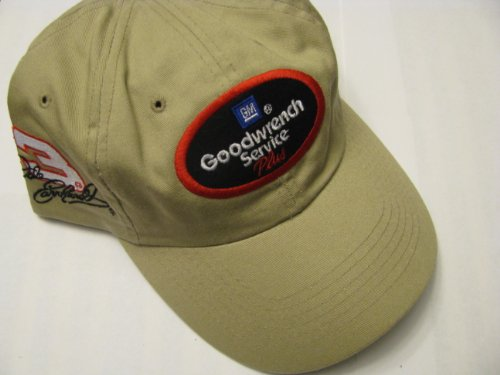 2db945ceded Dale Earnhardt Sr  3 GM Goodwrench Service On Brow Of Hat Plus Tan Brown  Color Slouch Style With Red. Black   White Accents Hat Cap One Size Fits  Most OSFM ...