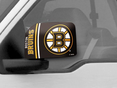 (Fanmats NHL Boston Bruins Mirror Cover, Large)