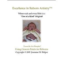 Using Genesis Heat Set Paints for Reborn Vinyl Dolls (Excellence in Reborn Artistry)