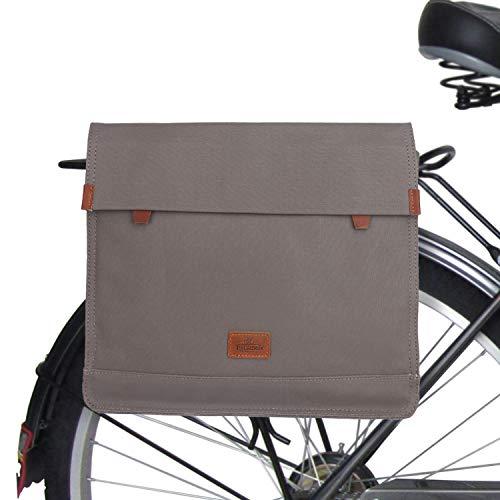 TOURBON Waterproof Bicycle Messenger Shoulder Carrier Bag Clip-on Bike Back Rack Pannier
