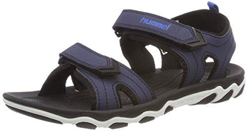 Hummel Kids Sport Sandals, Peacoat, 64-515-7666 (2.5 US) by Hummel (Image #1)