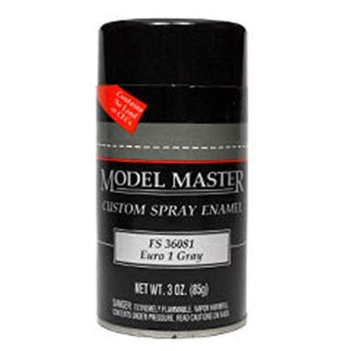 1988 Enamel (Testors Model Master Spray Enamel Euro 1 Gray FS 36081 3oz. 85g #1988)