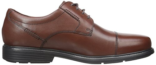 Rockport Mens Charles Strada Captoe Oxford Tan