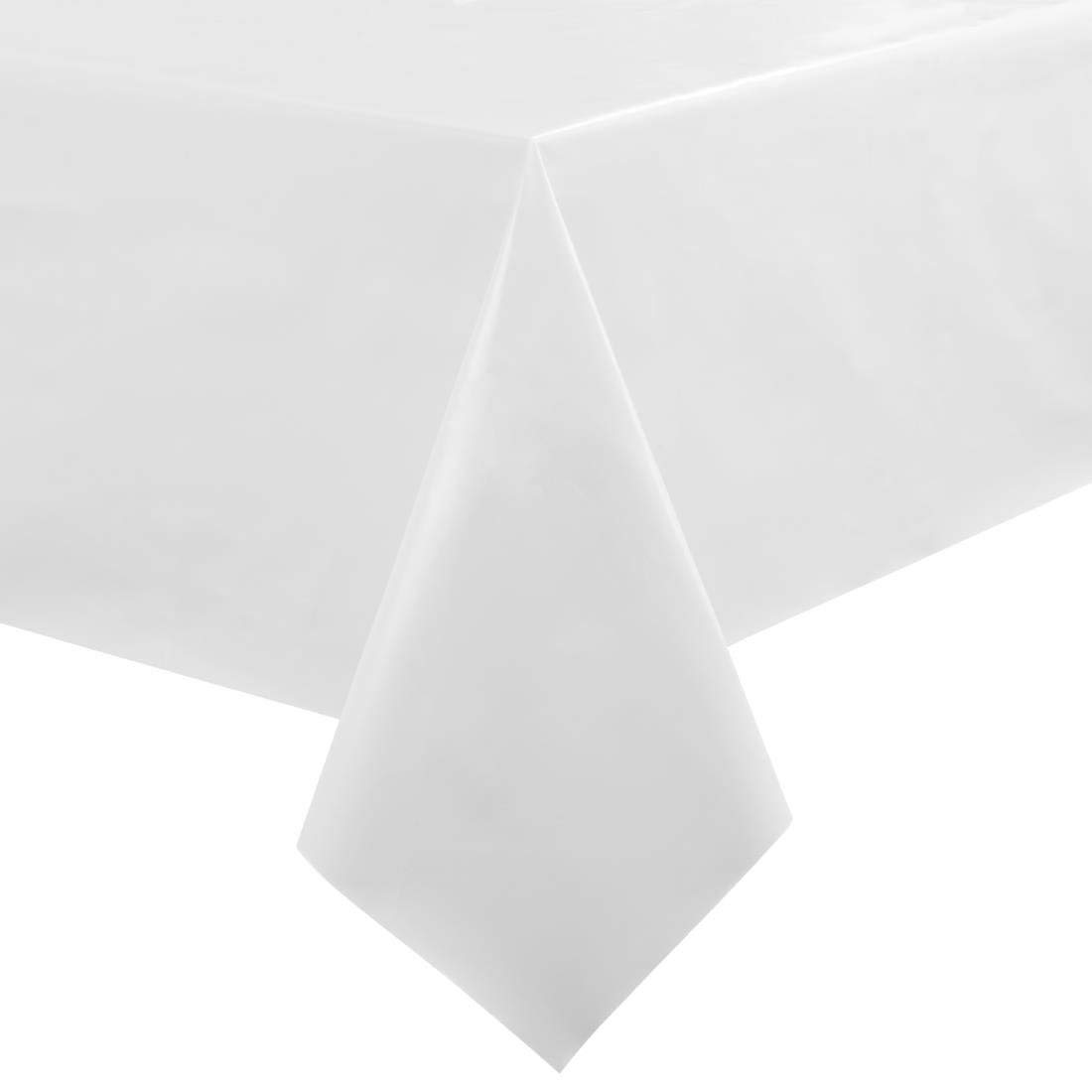 Plain White Stalwart GH174 Table Cloth 35 x 35 890 mm x 890 mm PVC