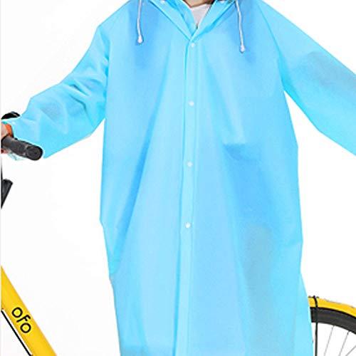 Batterie color Blue Plein Imperméable Célibataires Blue Épais Poncho Vélo Hommes Adulte Size Geyao Mode Randonnée Coréenne En Air Voiture Et Xl Femmes Électrique 6BdwqUS