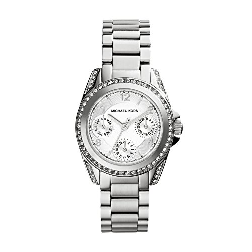 Michael Kors Women's 'Blair' Quartz Stainless Steel Watch, Color:Silver-Toned (Model: W-WAT-1244)