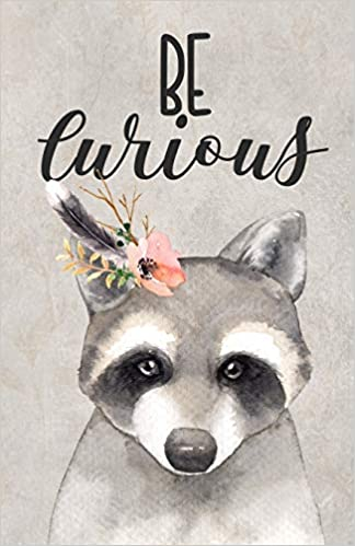 Paislee Paperie - Be Curious: Woodland Raccoon Dot Grid Journal