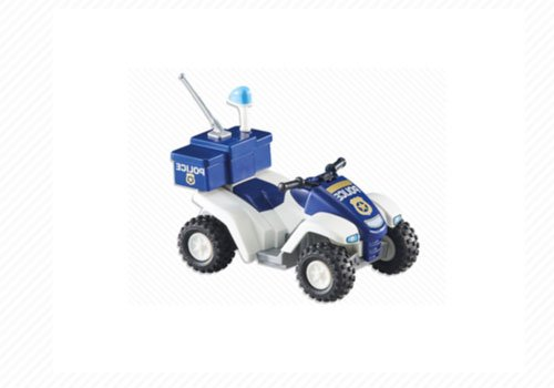 (Playmobil Add-On Series - Police Quad)