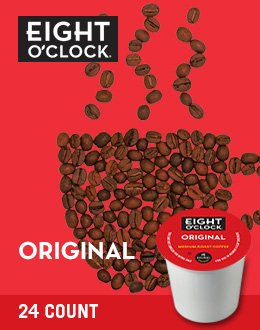 Eight O'Clock Coffee Original K-Cups (96 count)