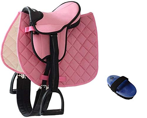 Markgraf Set German Riding Shettysattel My Little Pony con accesorios de cepillo (rosa)