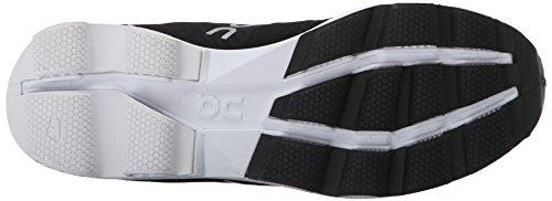 On Running Cloudcruiser, Chaussures Compétition Homme, Noir (Black / White), 40.5 EU