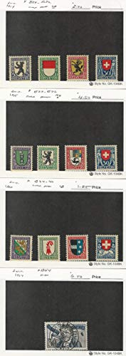 Used, Switzerland, Postage Stamp, B29//B44 Mint & Used, 1924-27, for sale  Delivered anywhere in USA
