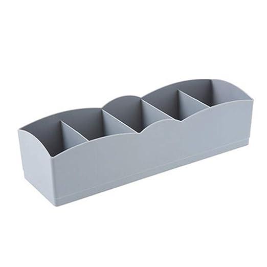 Runme Organizador plástico Corbata Bra Calcetines del cajón envase ...