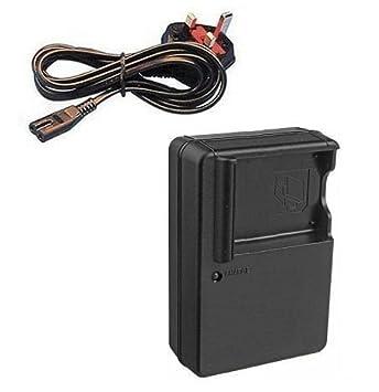 Mains Battery Charger for Panasonic Lumix DMC-FS14, DMC-FS16, DMC-FS18,  DMC-FS22, DMC-FS28, DMC-FS35, DMC-FS37, DMC-FS40, DMC-FS41, DMC-FX77,