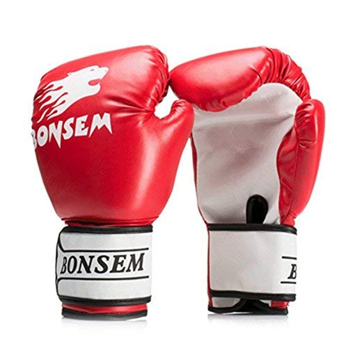 KIDS YOUTH JUNIOR RED PAIR OF WRAPS FOR MMA KICKBOXING SPORTS TRAINING 1.5m