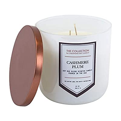 Chesapeake Bay Candle Core Collection Two-Wick Scented Candle, Cashmere Pl