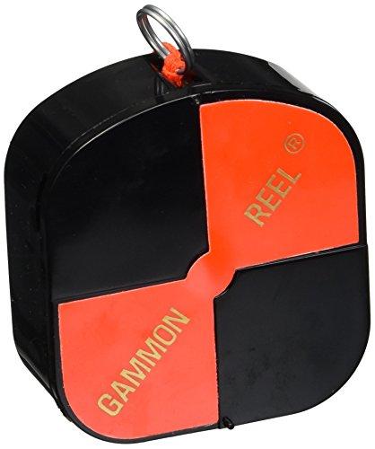 CST/Berger 11-728 12' Hi-Viz Gammon Reel - Black & Orange Target String (Gannon Reel)