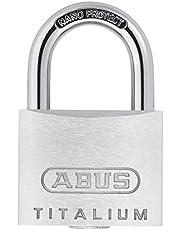 ABUS 54TI 15 KA Titalium hangslot/15 mm, met identieke sleutels