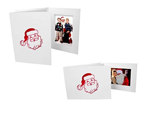 Santa Christmas Photo Folders For 4x6 Vertical