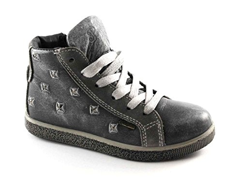 Bébé 27 Chaussures Goretex Gris 30 Primigi Grigio Espadrille Côté Mi 46140 Zip HF61A