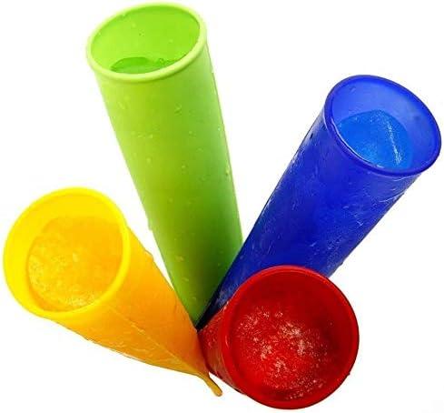 Añadiendo al carrito...Añadido a la cestaNo añadidoNo añadidoiNeibo - Juego de moldes para helados, polos de hielo, de silicona, sin BPA, 10 unidades, multicolor