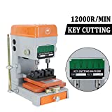 Homgrace Automatic Key Duplicating Machine, Key Guide Key Reproducer Reproducing Cutter Durable 110V