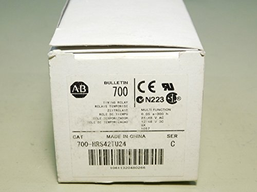 BRAND NEW - Allen-Bradley 700-HRS42TU24 Ser. C Timing Relay Module by Allen-Bradley