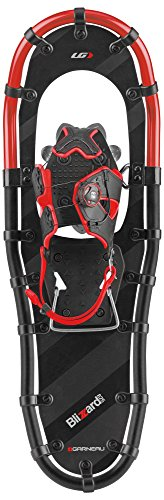 Louis Garneau - HG Men's 825 Blizzard II Snowshoe, Black/Gray/Red by Louis Garneau