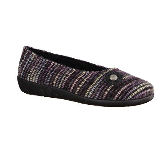 Rohde, Pantofole donna Multicolore multicolore