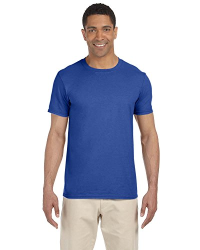 Gildan Adult Softstyle 45 Oz T-Shirt - Metro Blue - M - (Style # G640 - Original Label)