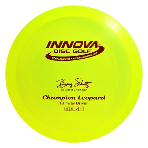 (Innova Disc Golf I-Dye Champion Leopard Golf Disc, 165-169gm (Colors may vary))