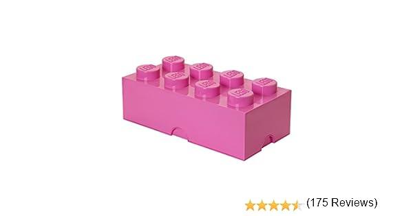 Ladrillo de almacenamiento 8 espàrragos Lego: LEGO: Amazon.es ...