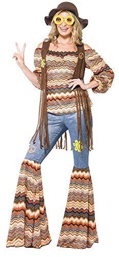 Smiffys Harmony Hippie Costume