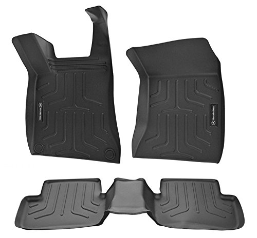 Mercedes-Benz OEM All Weather Floor Liners Trays Mats 2015 to 2017 GLA-Class (3 Set)