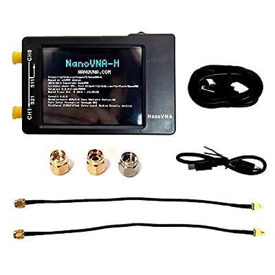 etateta Vector Network Analyzer Portable Handheld Digital Display Screen Vector Network Analyzer Shortwave MF HF VHF Antenna Analyzer for NanoVNA 50KHz-900MHz