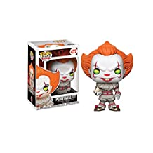 Funko 20176 Pop Movies: IT-Pennywise with Boat, Styles May Vary Collectible Figure