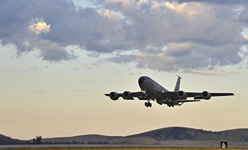 Home Comforts A KC-135 Stratotanker takes off during an operational readiness exercise at Fairchild Air Force Base by Home Comforts