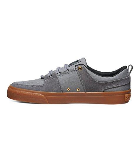 DC Herren Lynx Schnür Mode Sneaker Grau / Gum
