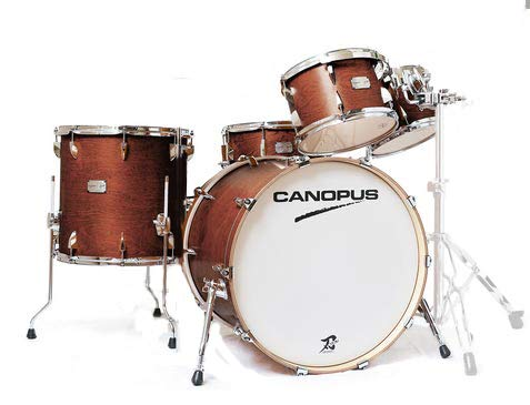 CANOPUS 4 ドラムセット【Antique 刃II (YAIBA II) GROOVE 4 Piece Piece Kit [Custom Drum]【Antique Brown】 B07MBXRHP8, 子供のズボン屋:3f944e87 --- baggu-menzu.xyz