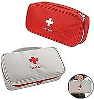 iMapo Portable Mini Travel Medicine Bag, Empty First Aid Kit, Small Medical Organizer Storage Pouch, Pill Drug